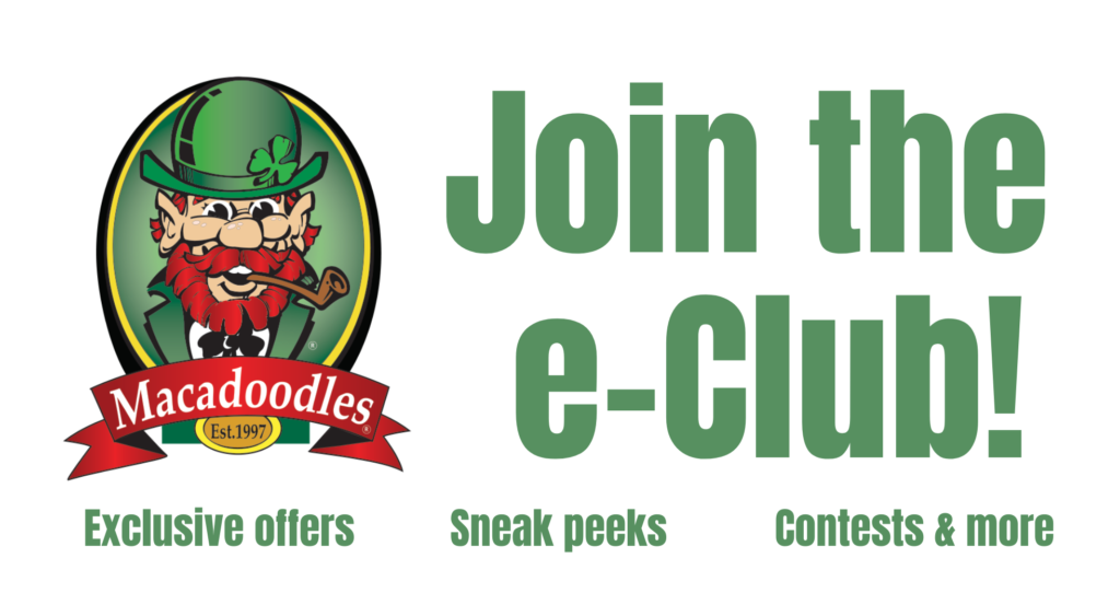 Join the Macadoodles Email Club